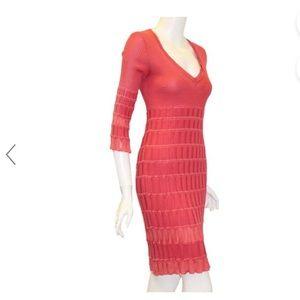 Missoni Coral Knit Dress size 10